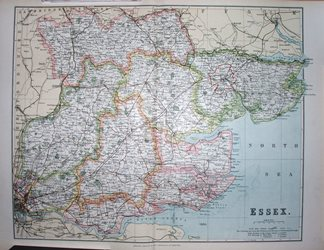 County Maps of Essex